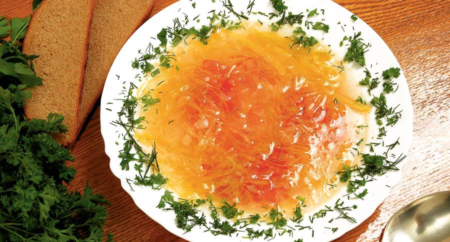 Supa de varza arzatoare de calorii