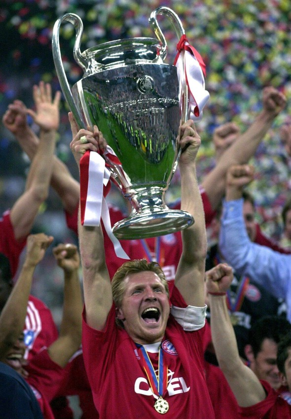 SOCCER-CHAMPIONS LEAGUE-EFFENBERG-CUP